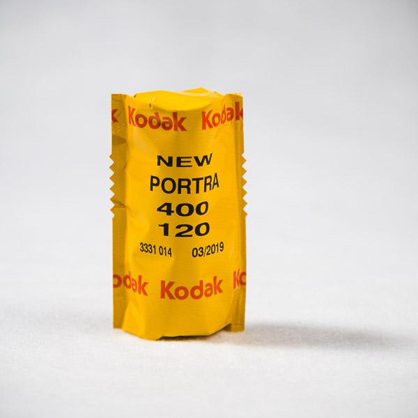 Kodak Portra 400 Medium Format - Darkroom Malta