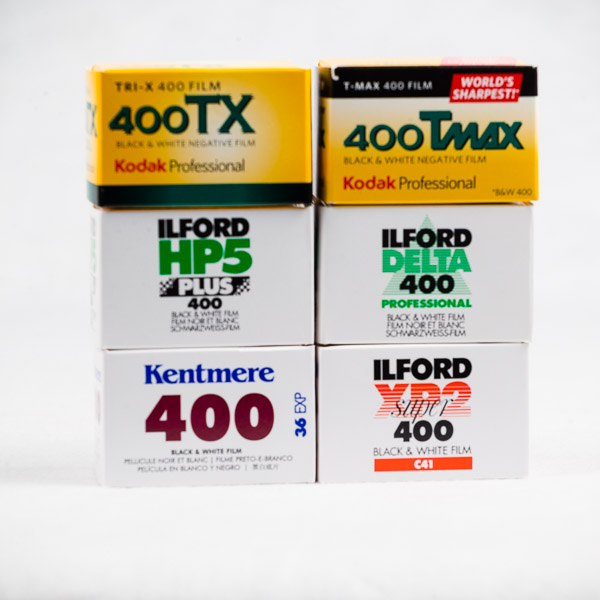 ASA 400 B&W Super Pack