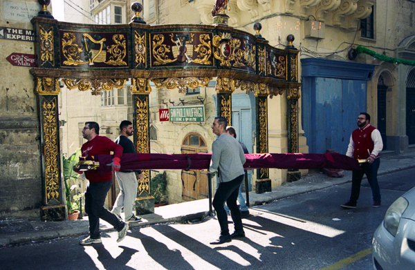St.Paul's Feast, Days later, Valletta, C41, Analog Photography, Darkroom Malta