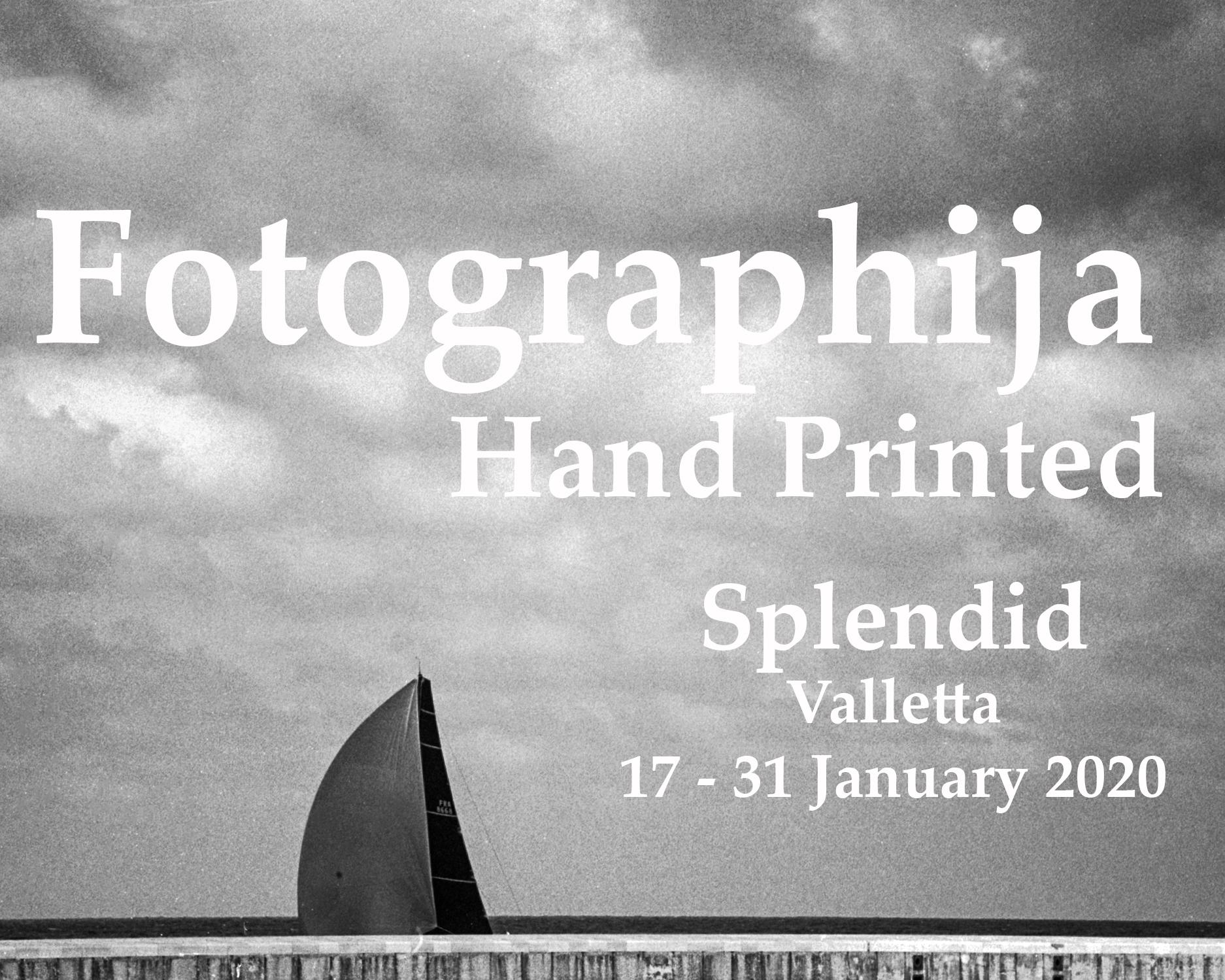 Exhibition, Darkroom Malta, Silver Gelatine Print, Analogue Photography, Alan Falzon, Splendid Valletta